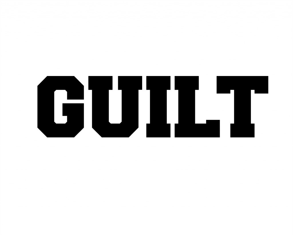Guilt – Word of the Week