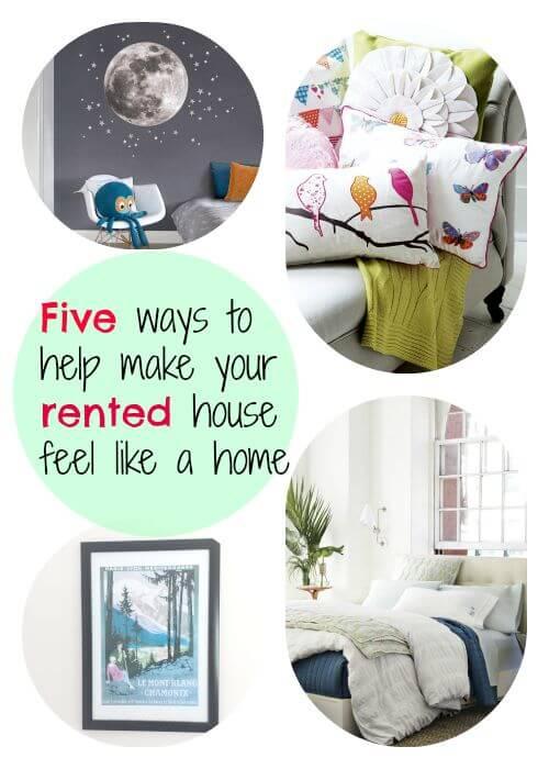 Five Ways to Make your Rental House Feel like a Home