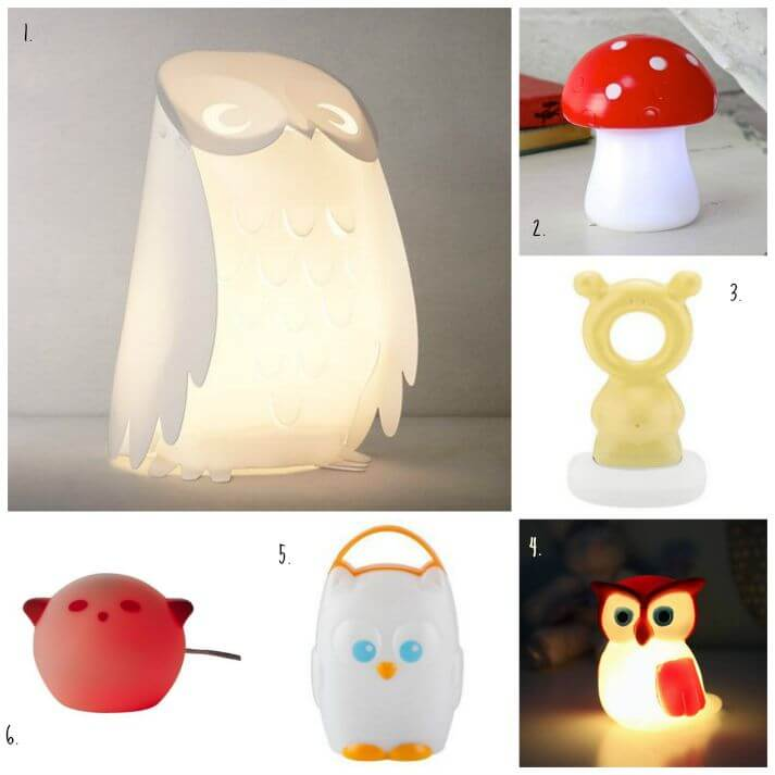 A Warm Glow – A Night Light for a Little Girl