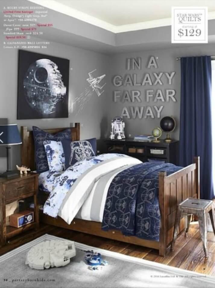 A Star Wars Themed Bedroom