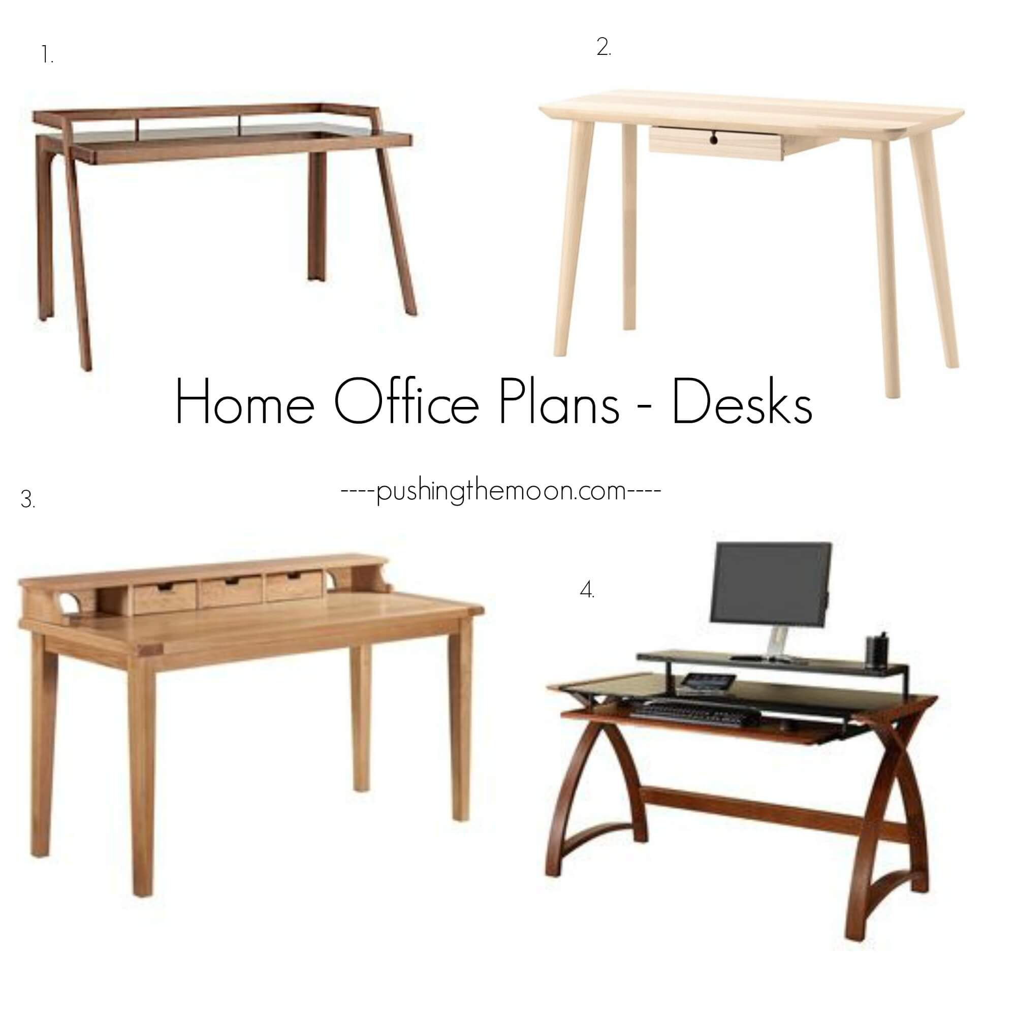 Home Office Plans | Pushing the Moon
