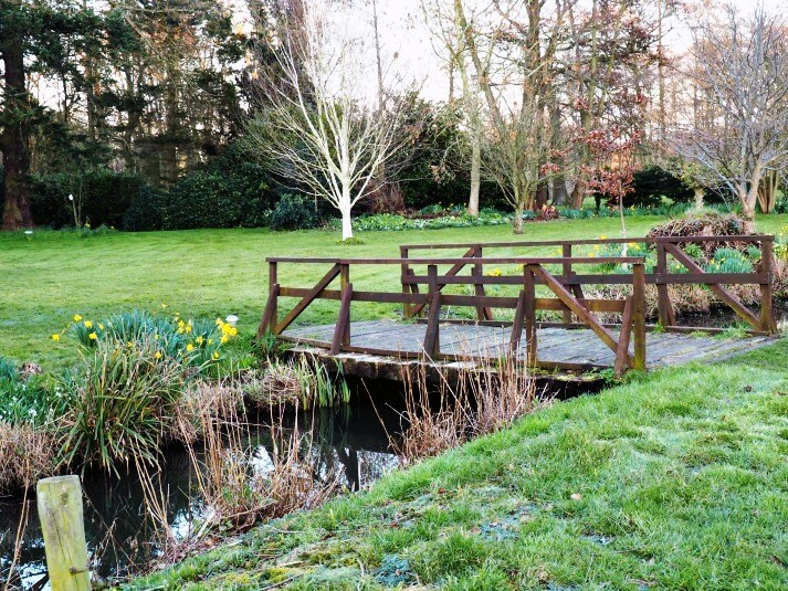 This Week in Five - Celebrate. The garden at The Norfolk Mead Hotel