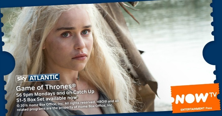 Game of Thrones is back with NOW TV