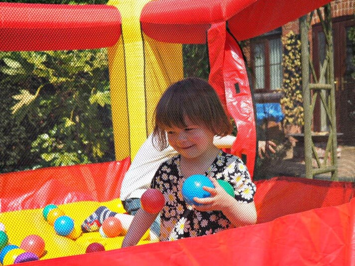Soaking-up-the-vitamin-d-G-on-bouncy-castle