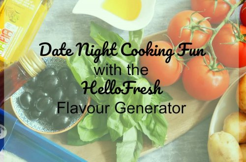 Date Night Cooking Fun With the HelloFresh Flavour Generator Header