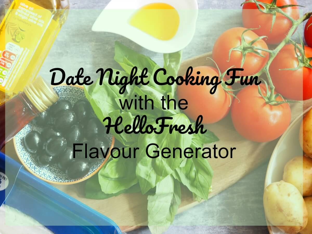 Date Night Cooking Fun With the HelloFresh Flavour Generator