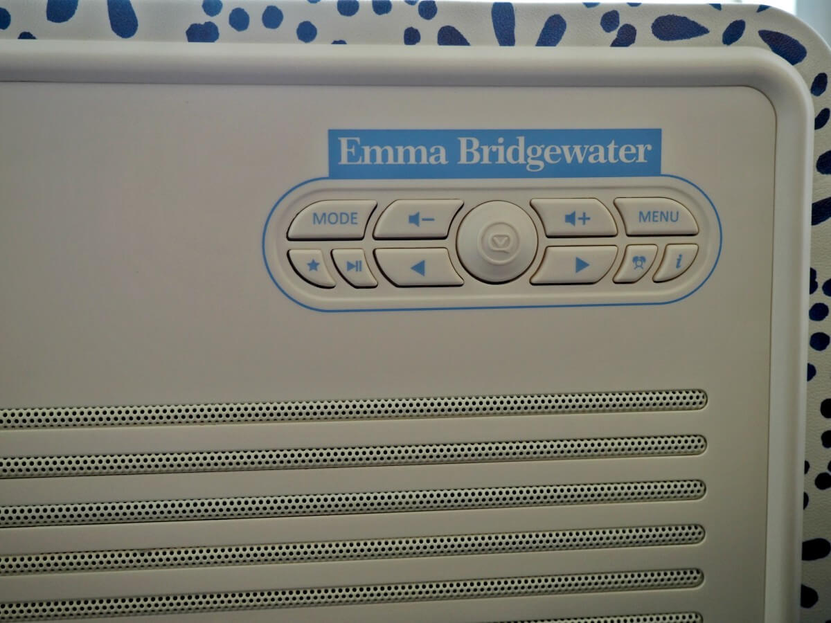 Emma Bridgewater Digital Radio Retro Mk II from VQ - Review and Giveaway 5