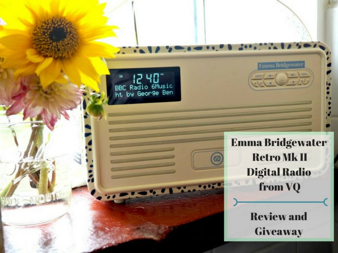 Emma Bridgewater Retro Mk II Digital Radio from VQ - Review and Giveaway Header