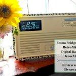 Emma Bridgewater Retro Mk II Digital Radio from VQ - Review and Giveaway Header