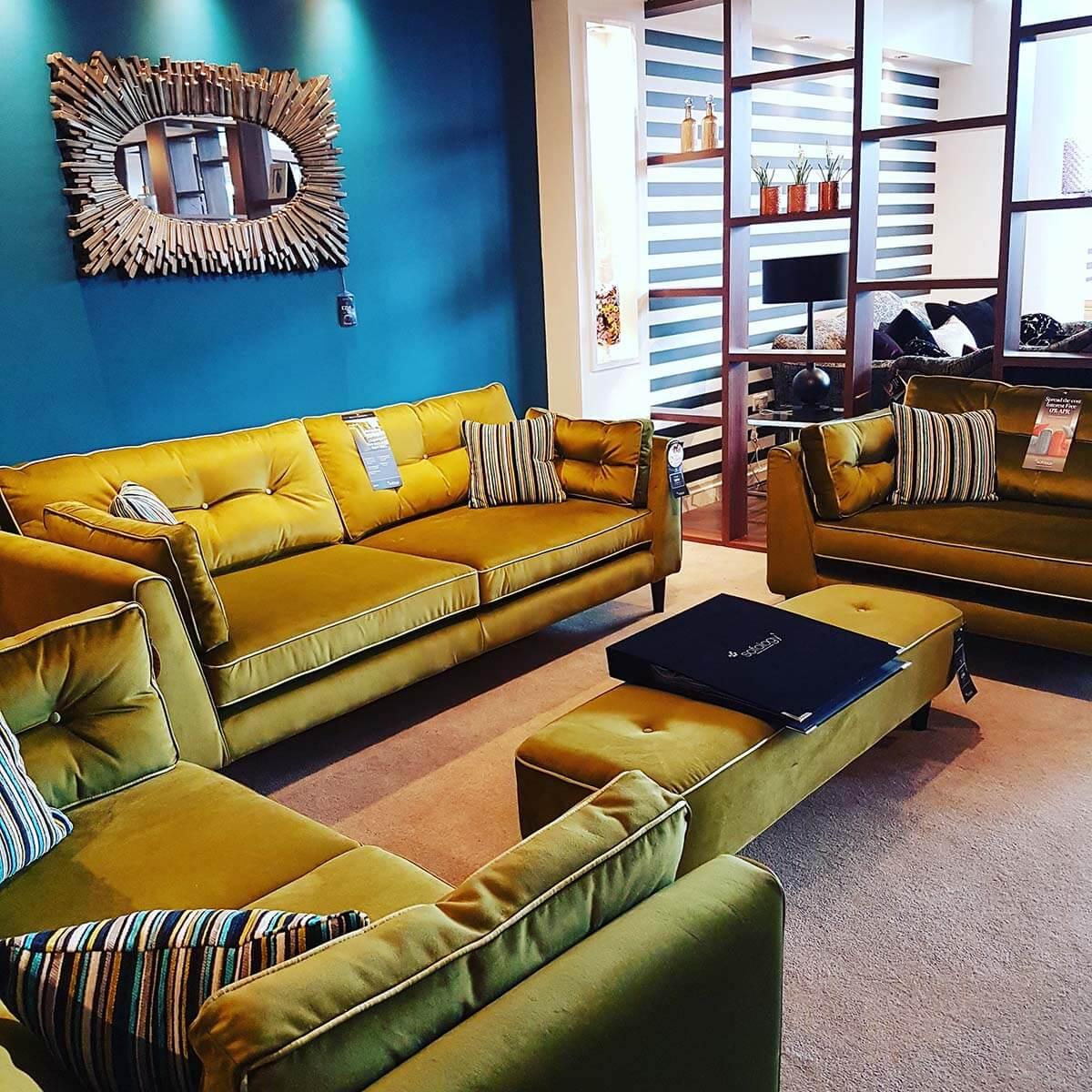 Sofa So Good with Sofology - Crushed Velevet Heaven