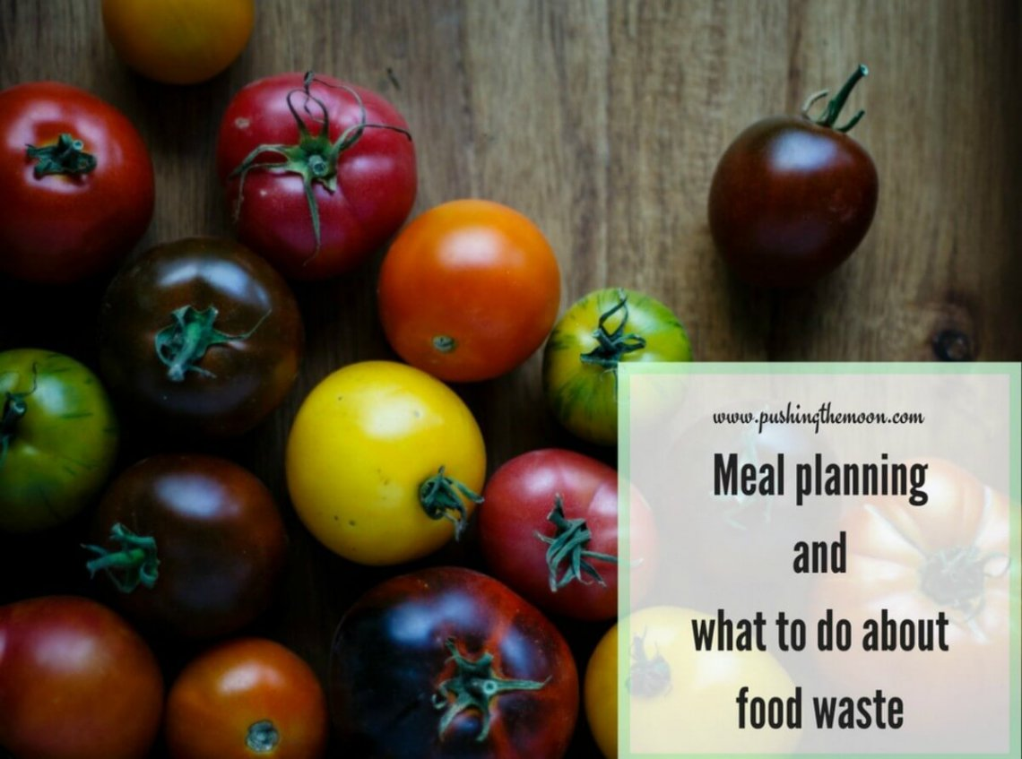 Meal planning and what to do about food waste HEADER