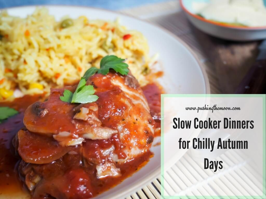 Slow Cooker Dinners for Chilly Autumn Days Header