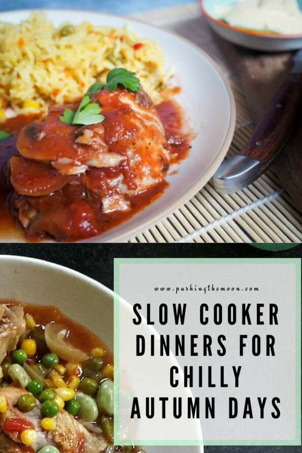 Slow Cooker Dinners for Chilly Autumn Days Pin