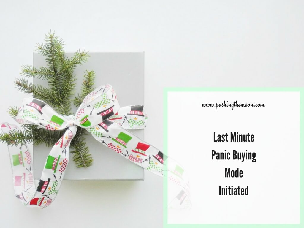 Last Minute Panic Buying Mode Initiated