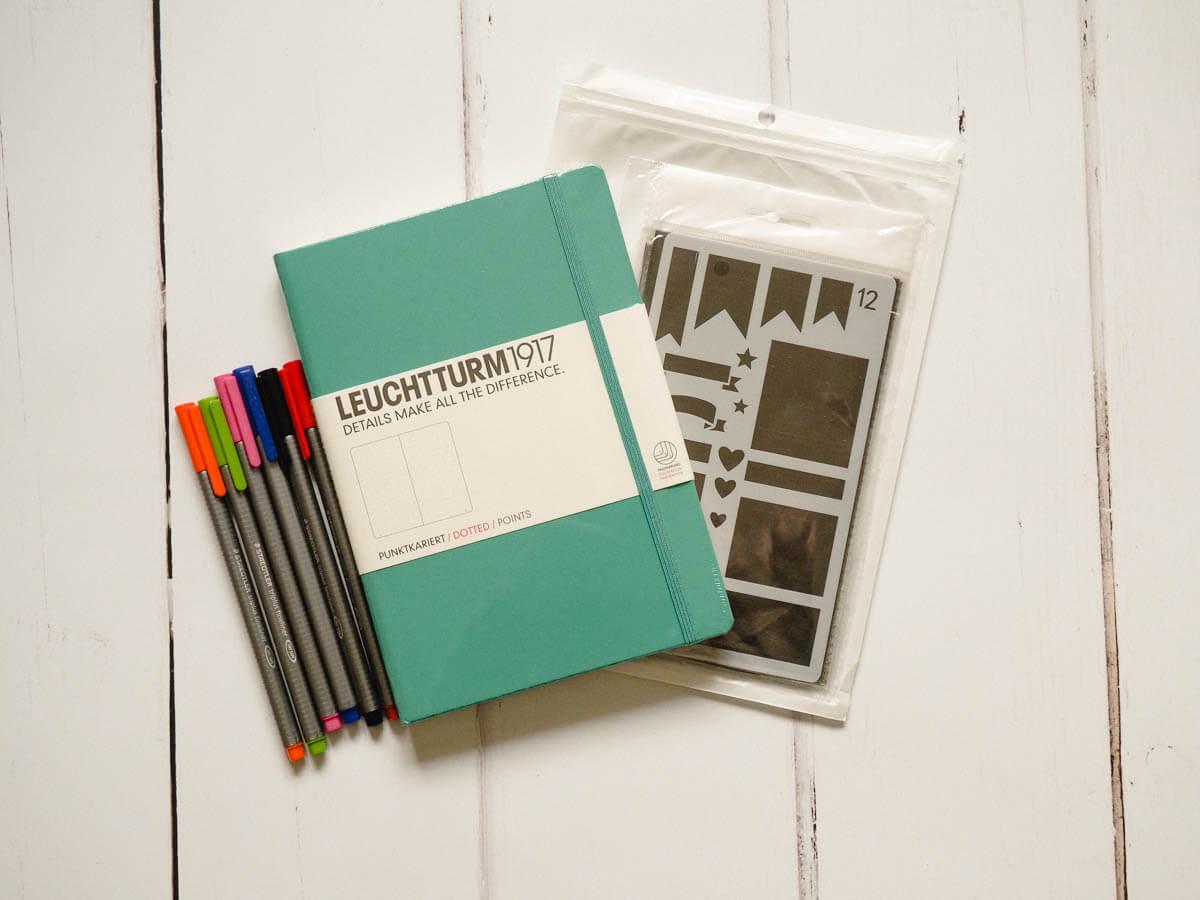 Win a bullet journal starter kit