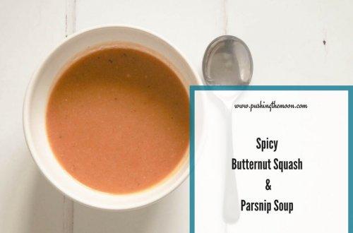 Spicy Butternut Squash & Parsnip Soup Header