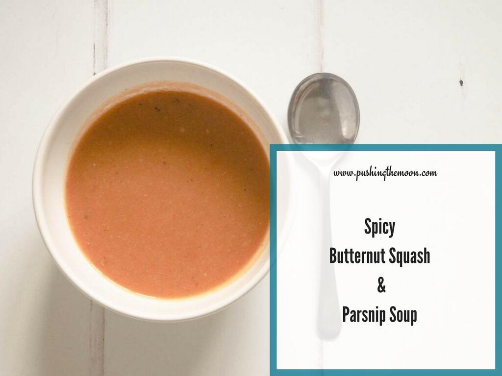 Spicy Butternut Squash & Parsnip Soup