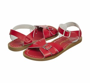 Some Things for the Weekend - Classic Red Saltwater Sandals