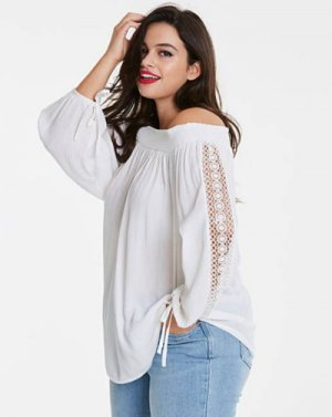 Some Things for the Weekend - Simply Be Bardot Top