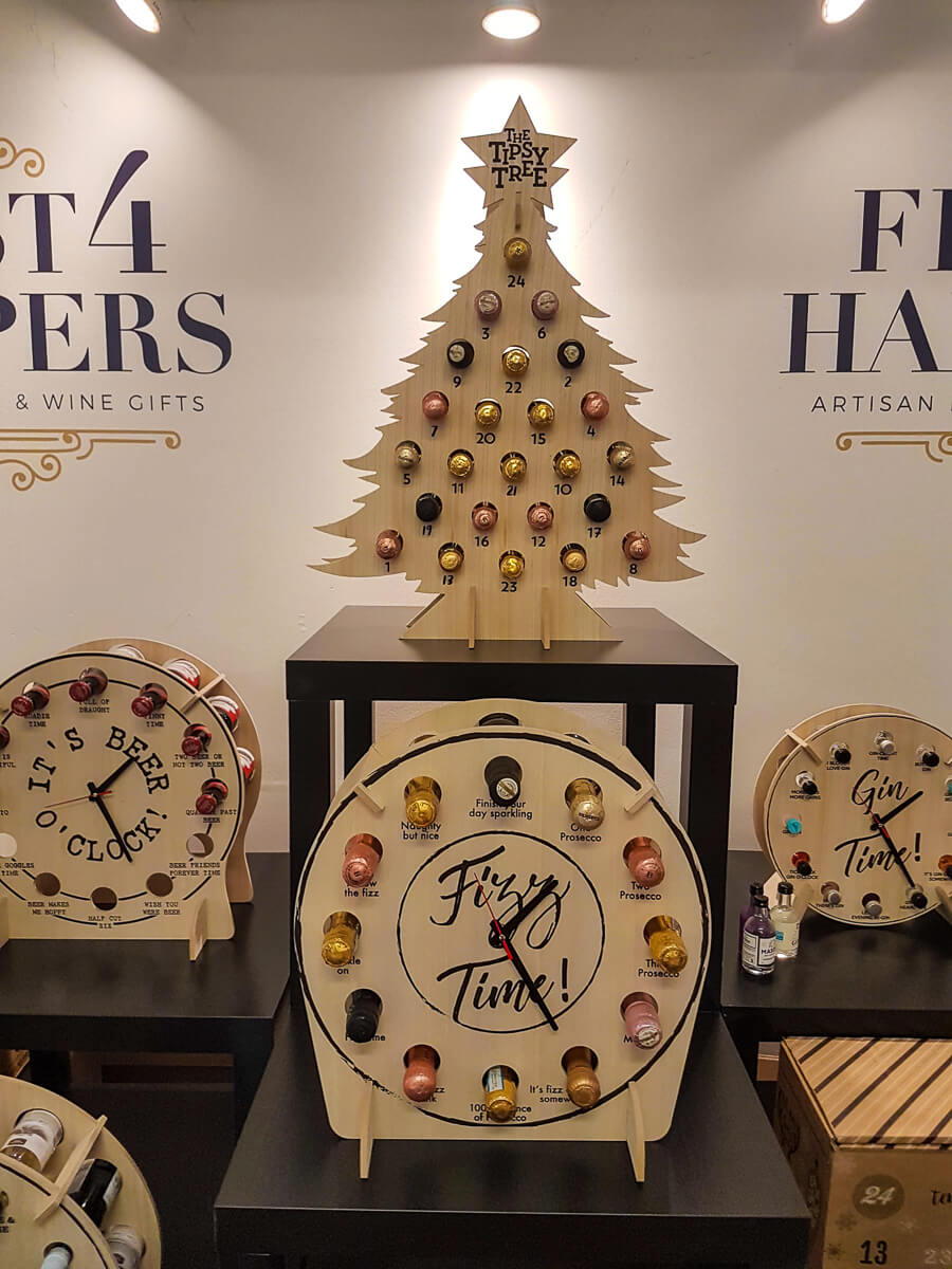 Looking back at July - alcoholic advent calendars from First 4 Hampers