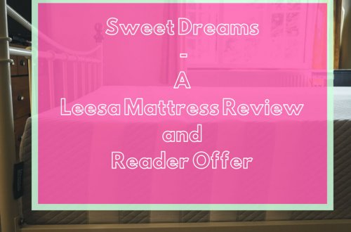 Sweet Dreams - A Leesa Mattress Review and Reader Offer