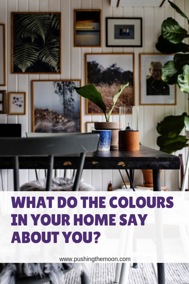 What do the Colours in Your Home Say About You - dining room with feature wall