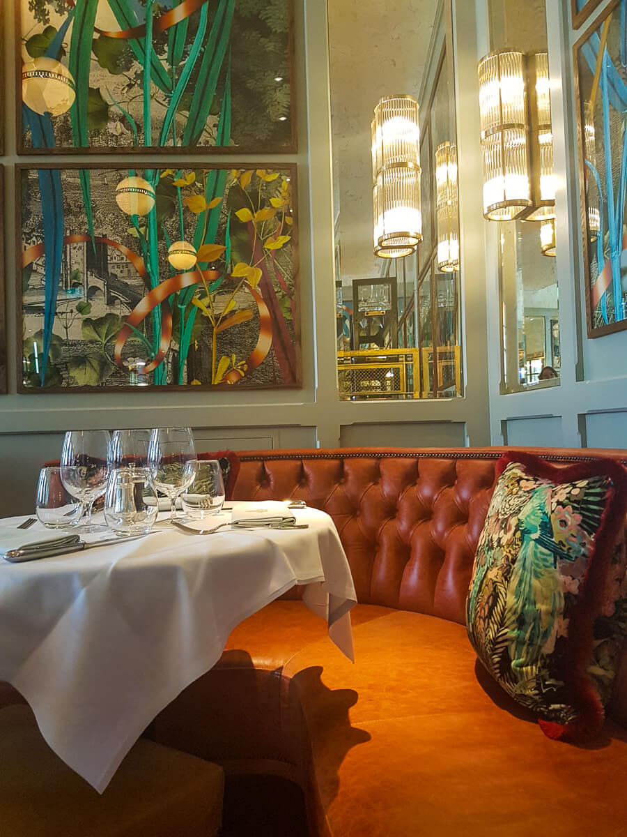 The Ivy Brasserie - Upstairs dining area
