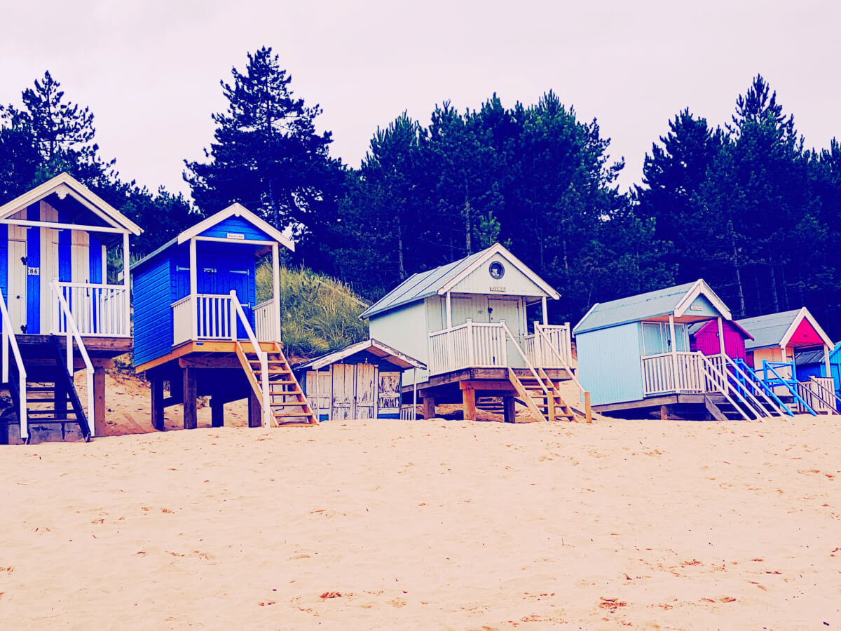 Wells beach huts - Liked and Loved August