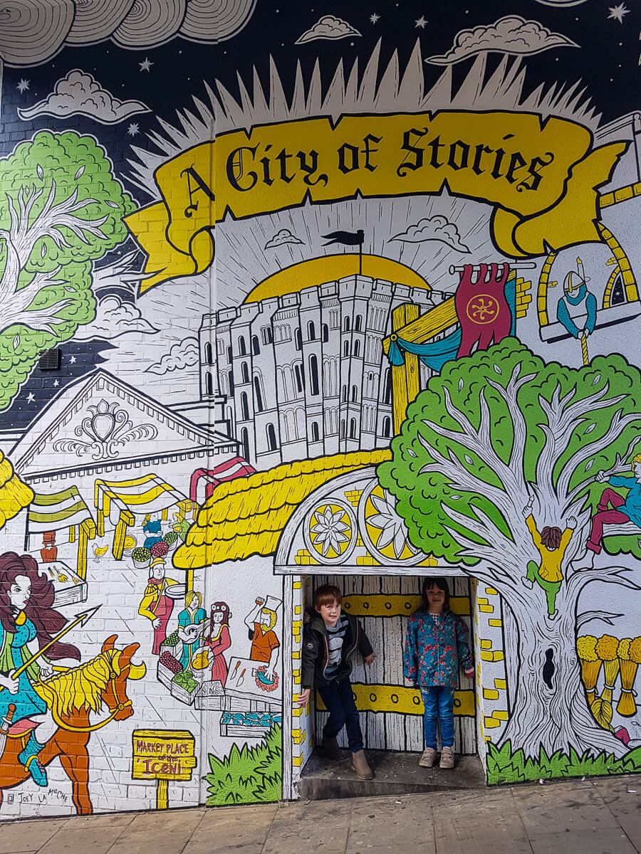 Looking back at August - Liked and Loved - A City of Stories Mural