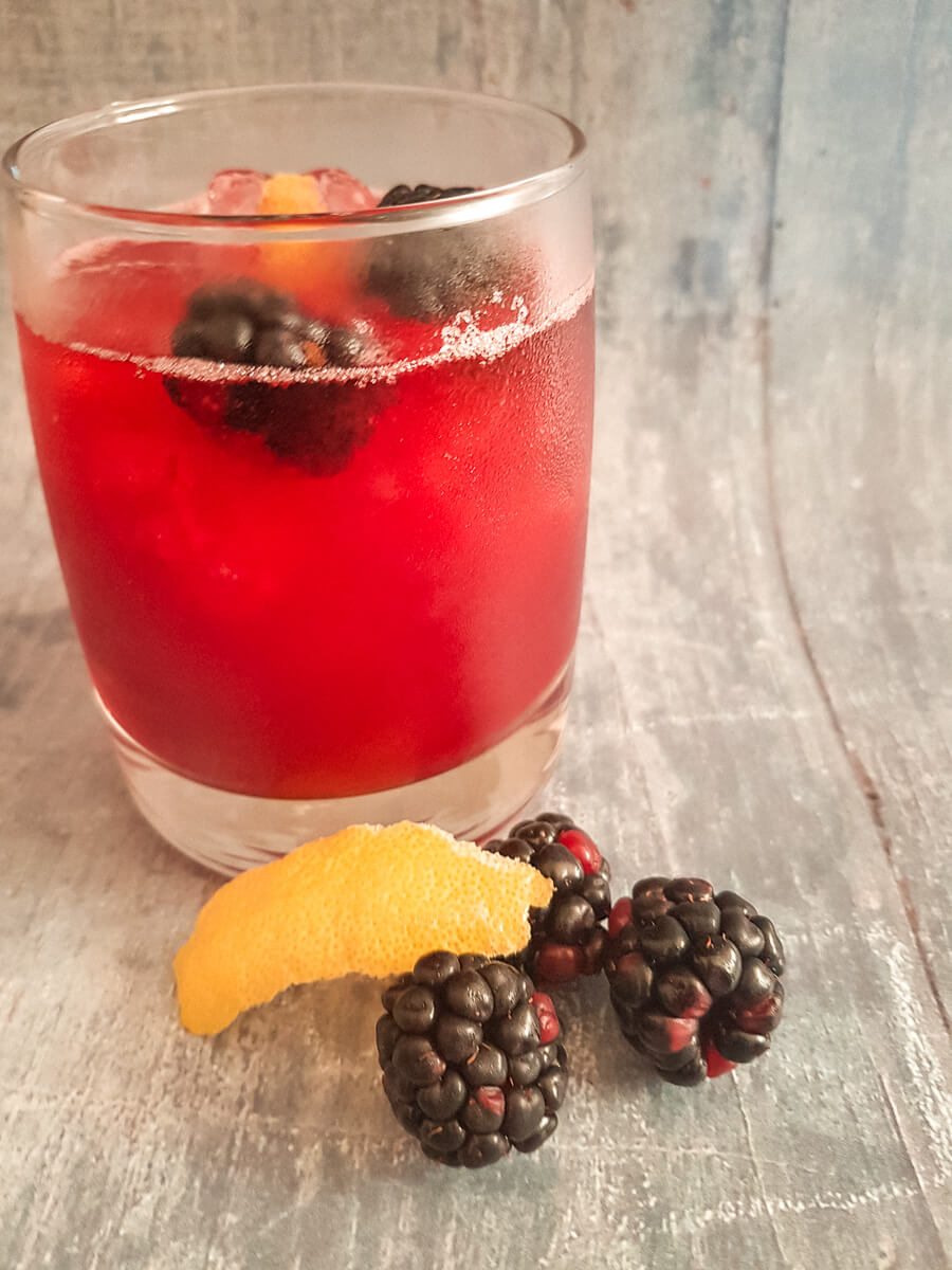 Liked & Loved - Blackberry gin sour