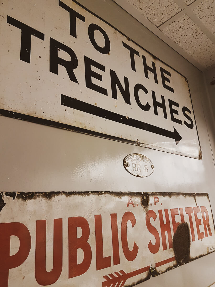 Liked & Loved - To The Trenches sign