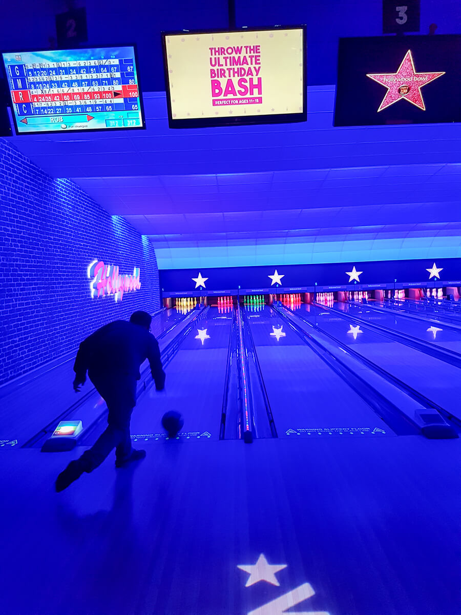 Feeling Like a VIP with Hollywood Bowl - bowling