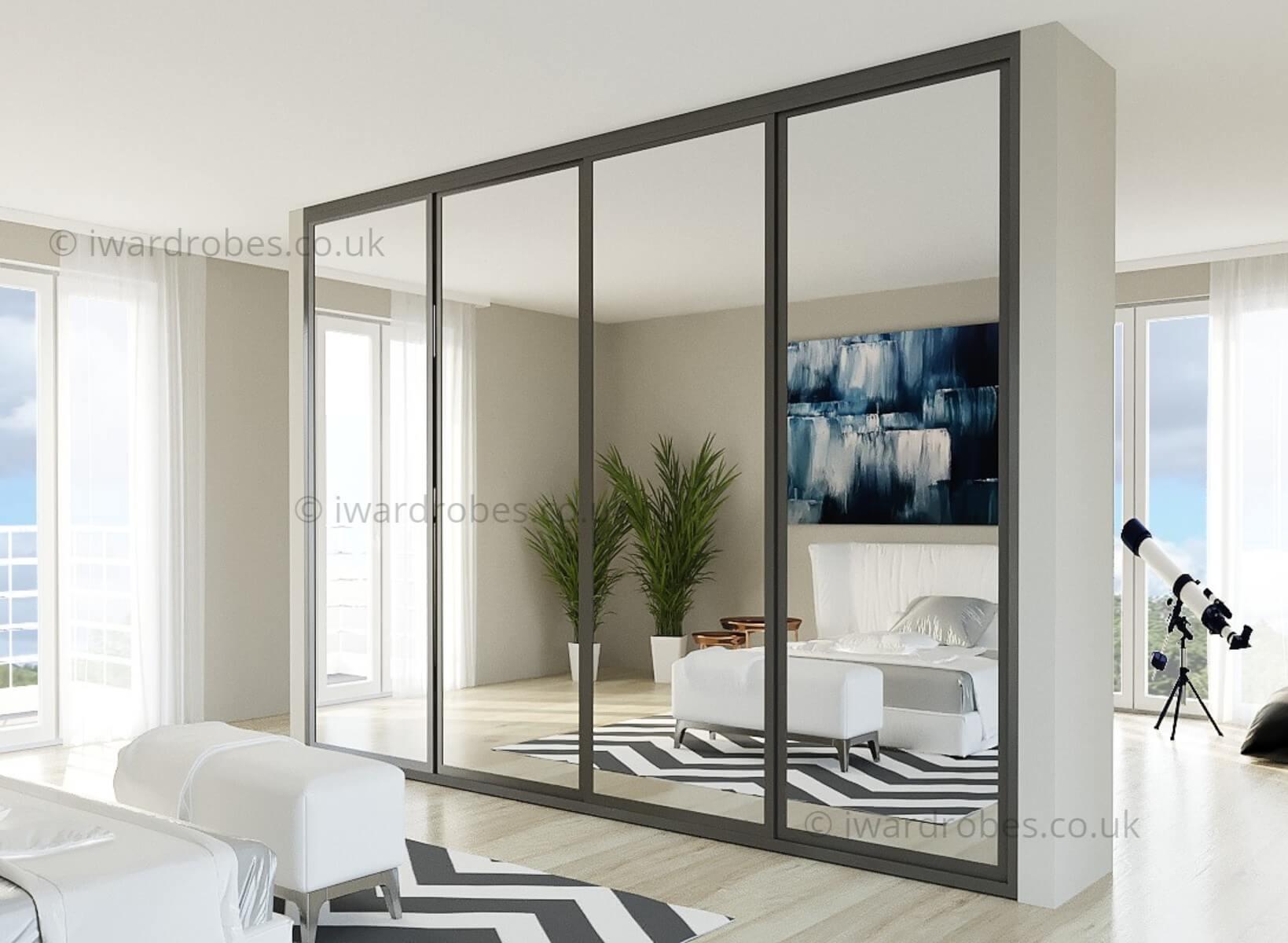 bedroom mirror sliding door wardrobe (003)