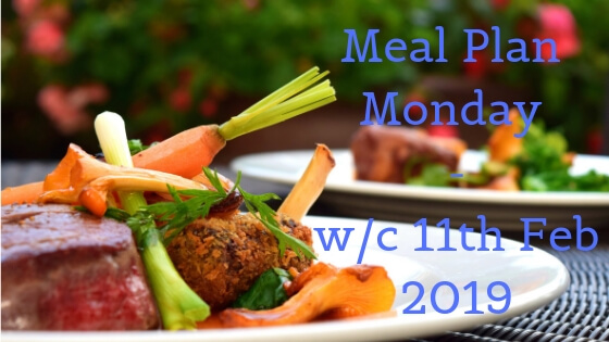 Meal plan monday - lamb cutlets and vegetables