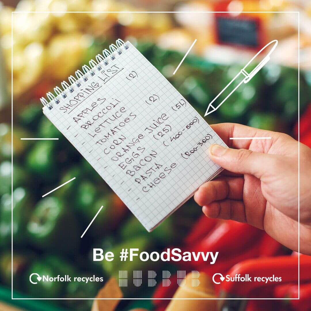 #FoodSavvy Challenge - shopping list