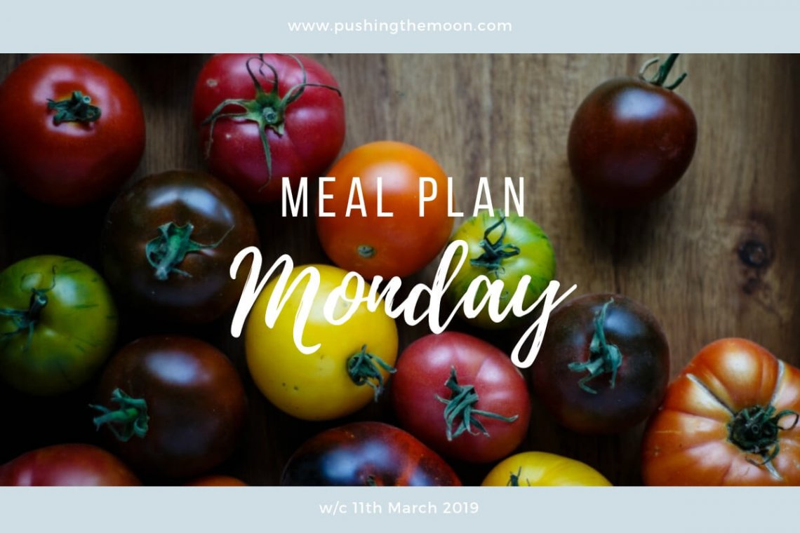 Meal Plan Monday - different coloured tomatoes